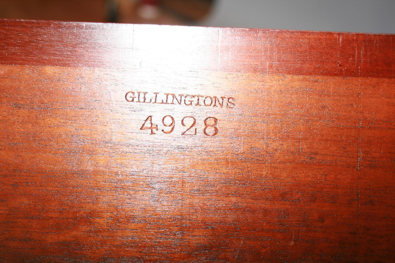 Fine original Regency mahogany commode, Gillington's of Dublin 60 W x 45 H x 37 D - Image 3 of 3