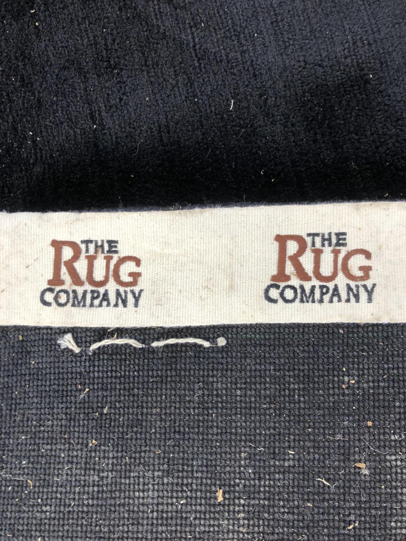 The Rug Company: Superb black centre rug 480 x 600 - Image 3 of 3