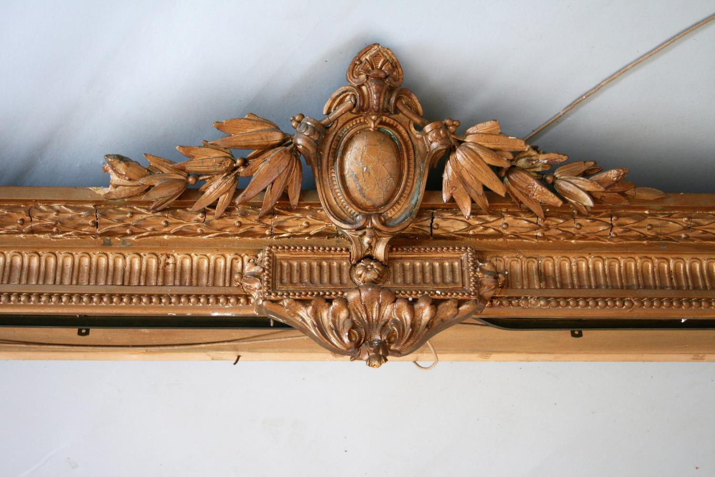 19th Century gilt decorative pelmet (as found). 410 long. - Image 2 of 2