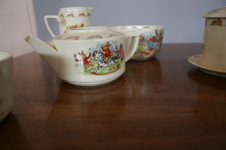 Royal Doulton part tea set, Bunnykins by Barbara Varvra - Image 3 of 3