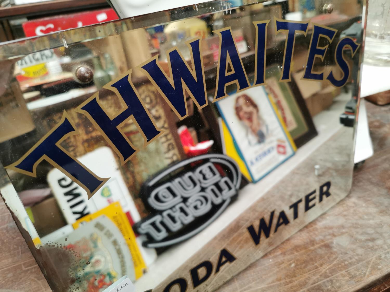 Thwaites Soda Water advertising mirror. - Image 2 of 2