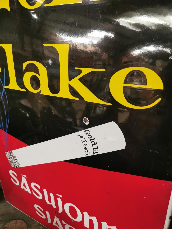 Gold Flake enamel advertising sign. - Image 2 of 2