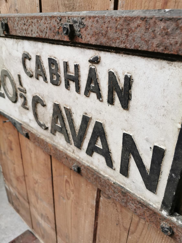 Cavan bi-lingual road sign. - Image 2 of 2