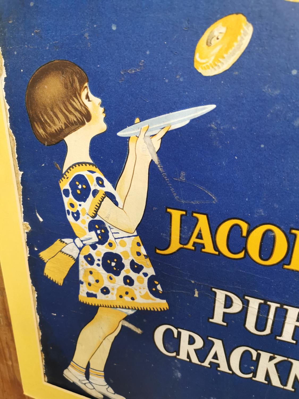 Jacob's Puff Cracknels advertising showcard. - Image 2 of 3