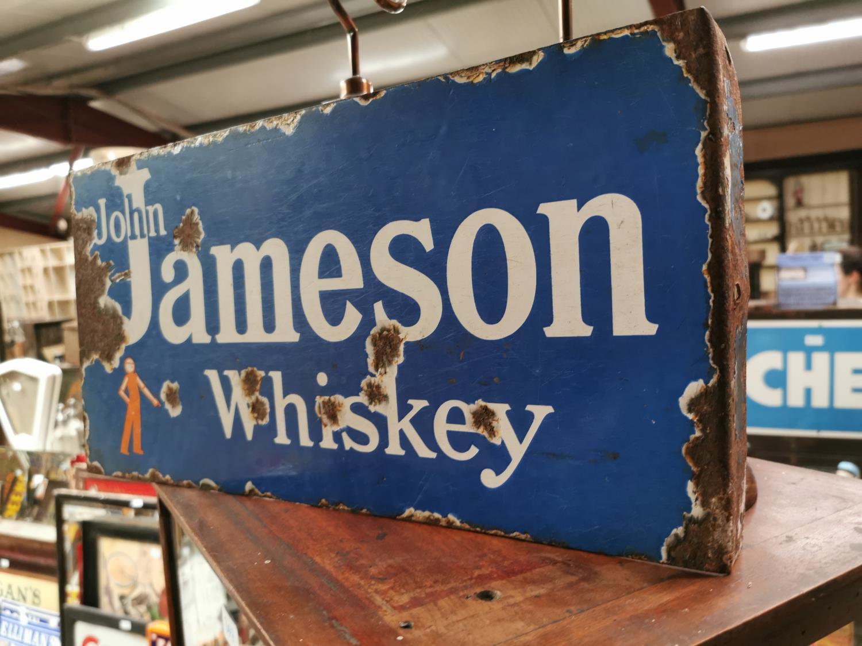John Jameson Irish Whiskey advertising sign. - Image 2 of 2