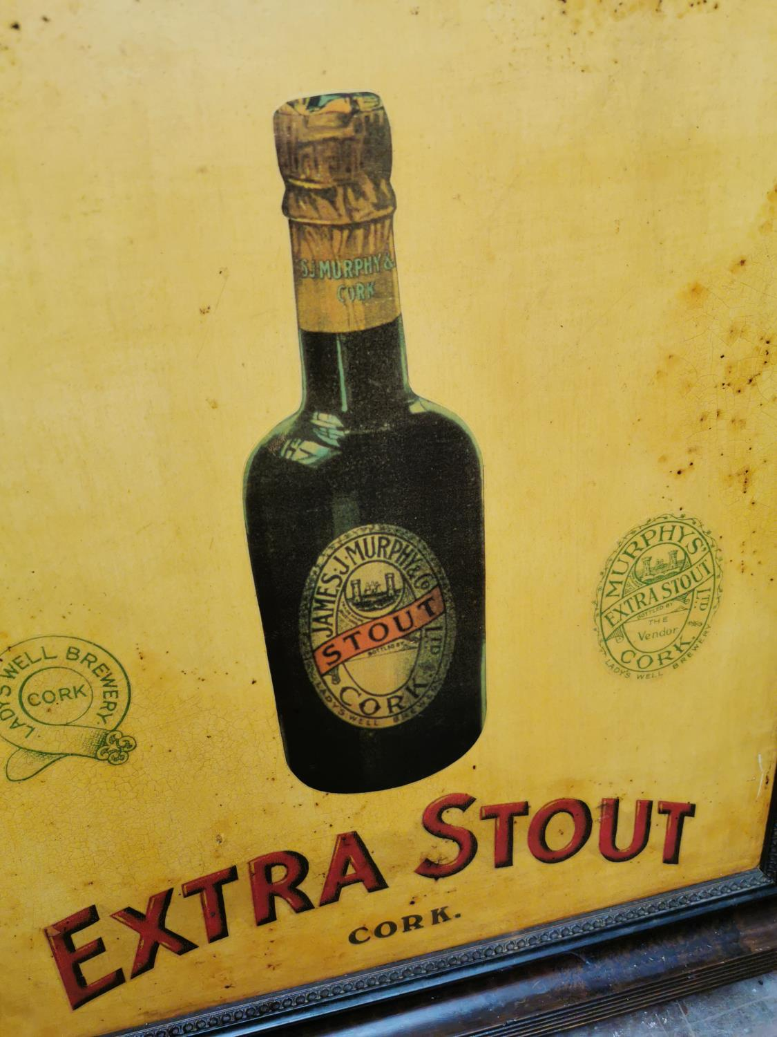 Murphy's Extra Stout Cork advertising sign. - Image 2 of 2