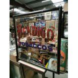Bendigo Tobacco's advertising mirror.