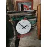 Guinness Time hanging advertising clock.