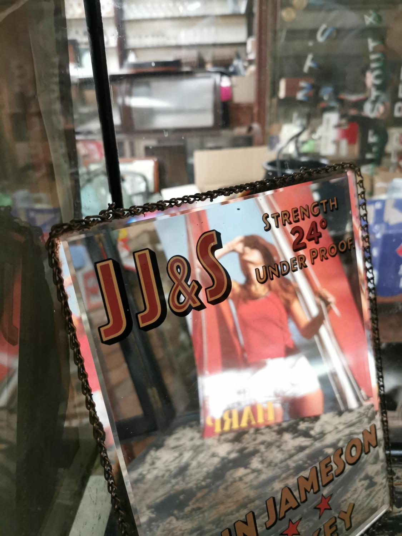 John Jameson Whiskey advertising mirror. - Image 3 of 3