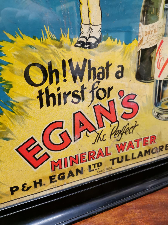 Egan's Mineral Waters advertising showcard. - Image 3 of 4