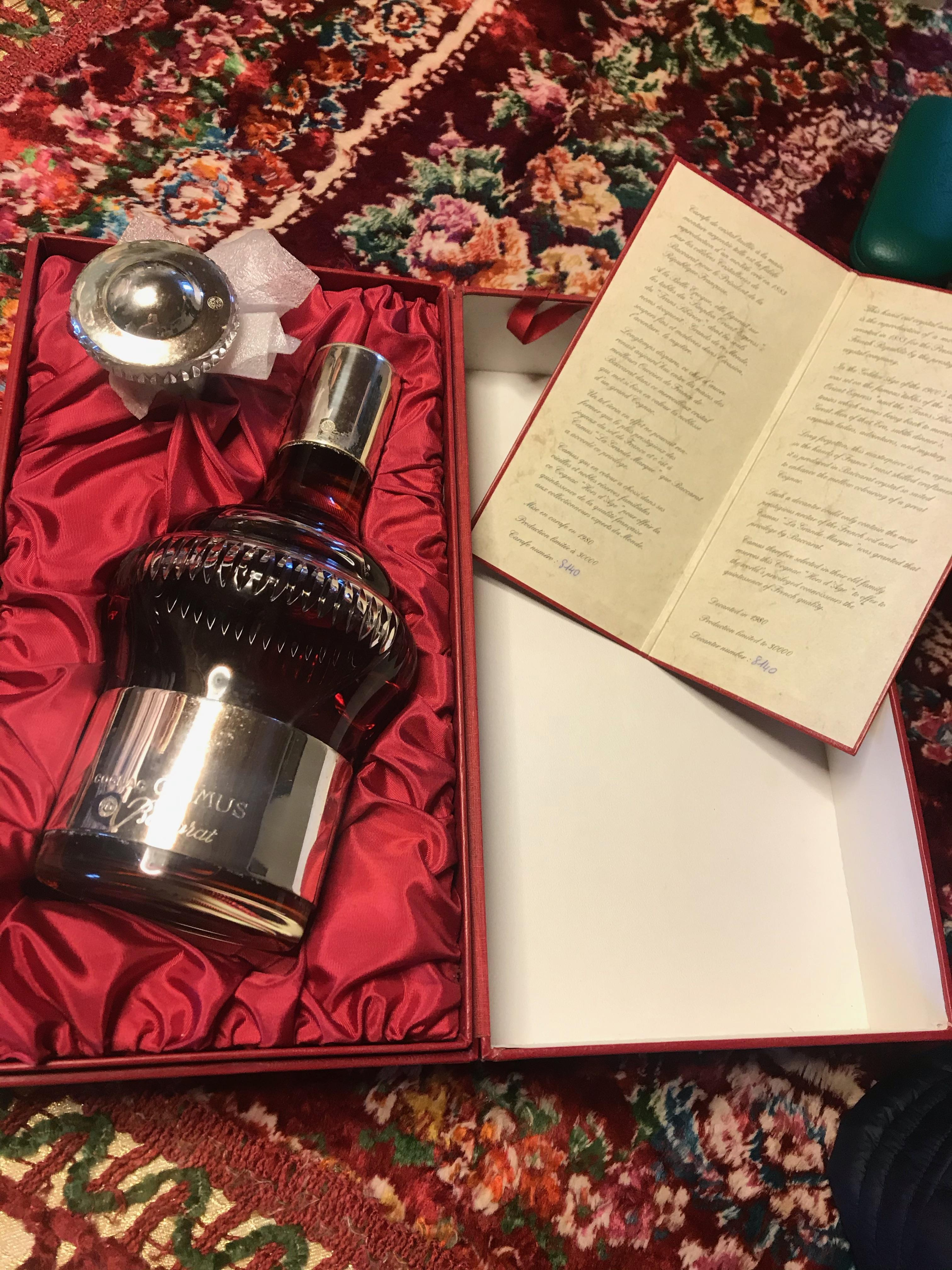 Bottle of Camus Cognac by Baccarat in original presentation case. - Image 4 of 5