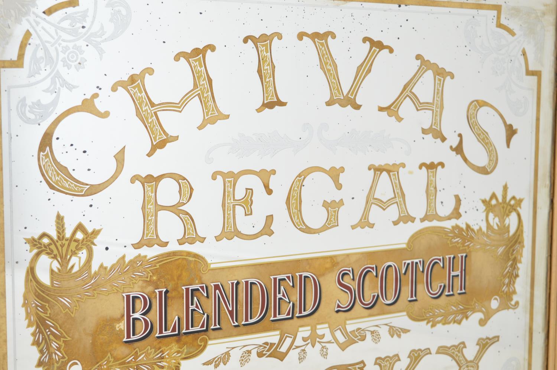 Chivas Regal advertising mirror. - Image 2 of 3