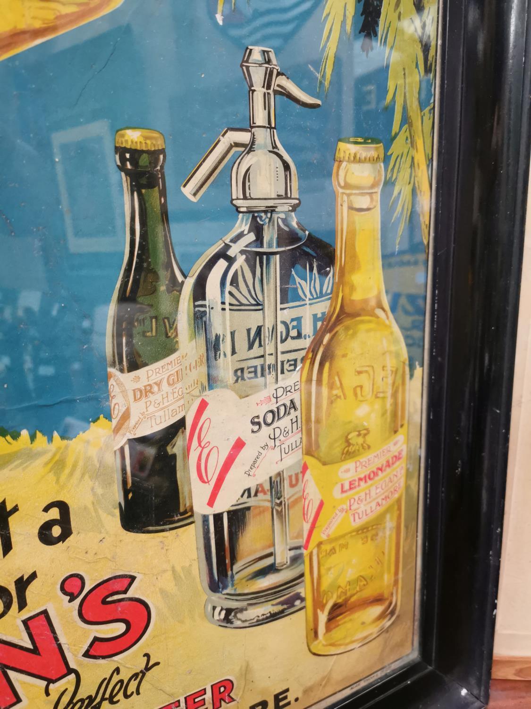 Egan's Mineral Waters advertising showcard. - Image 2 of 4