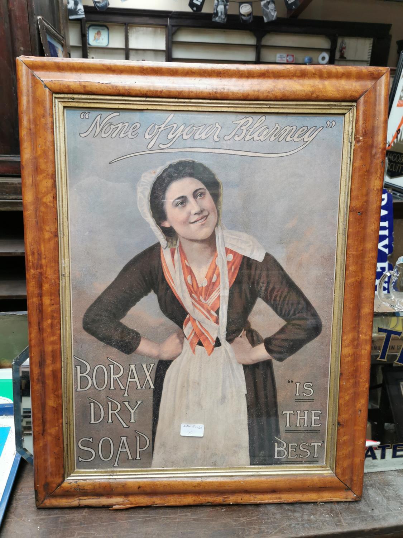 Borax Dry Soap advertising print.