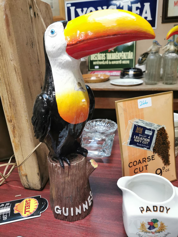 Guinness Toucan resin advertising figure.