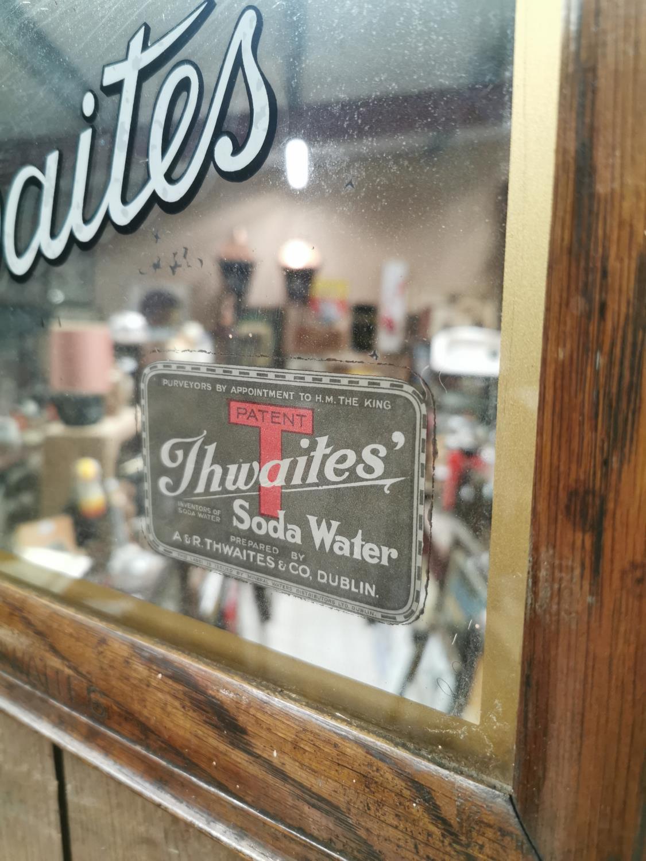 Thwaites Soda Water advertising mirror. - Image 2 of 5