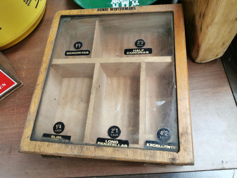 Henri Wintermans cigar advertising cabinet. - Image 3 of 4