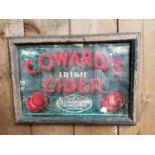 Coward's Irish Cider advertising print.