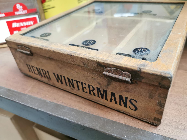 Henri Wintermans cigar advertising cabinet. - Image 2 of 4