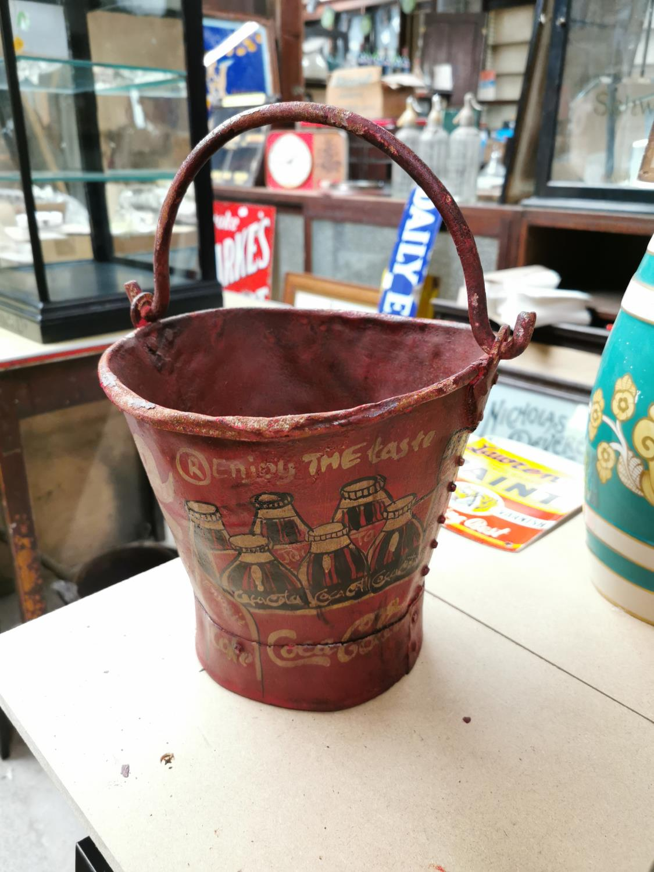 Coca Cola advertising ice bucket. - Image 2 of 2