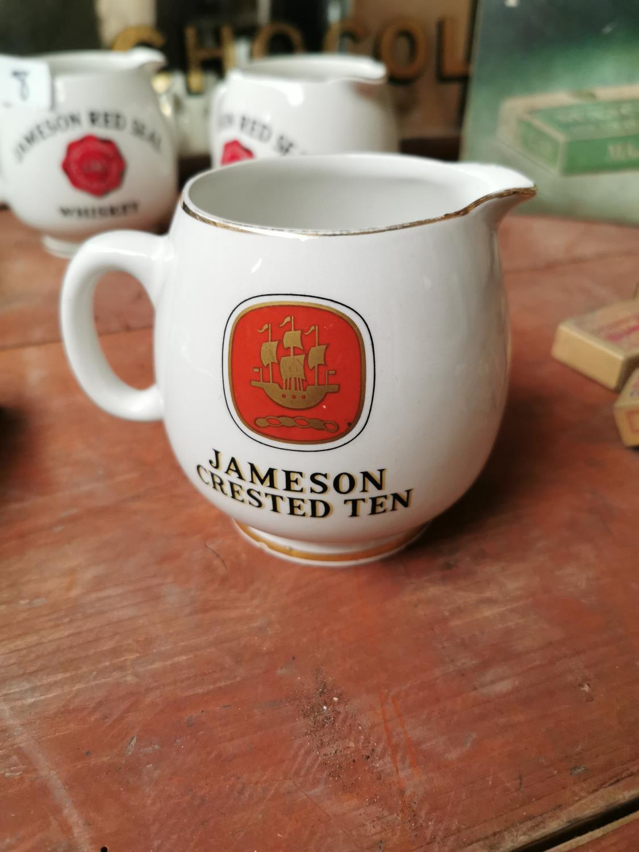 Jameson Crested Ten advertising jug.