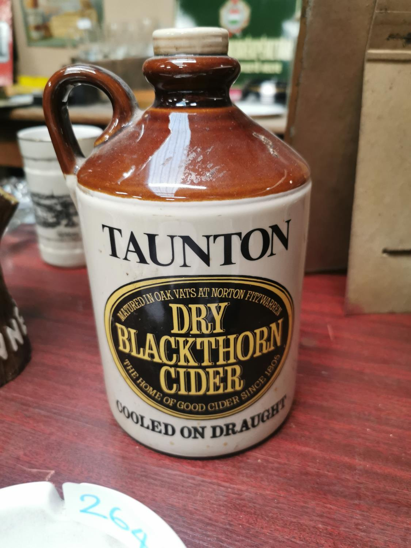 Dry Black Thorne Cider beer mat holder.