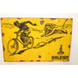 Raleigh Bicycle enamel sign.