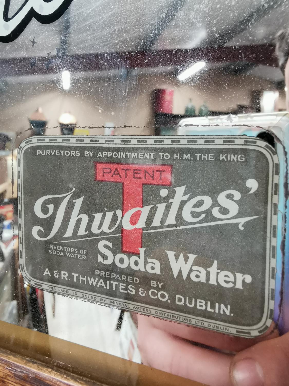Thwaites Soda Water advertising mirror. - Image 5 of 5