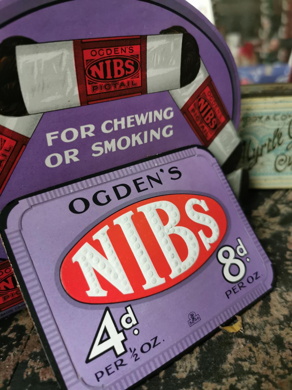 Ogden's Nibs cardboard advertising stand. - Image 2 of 2