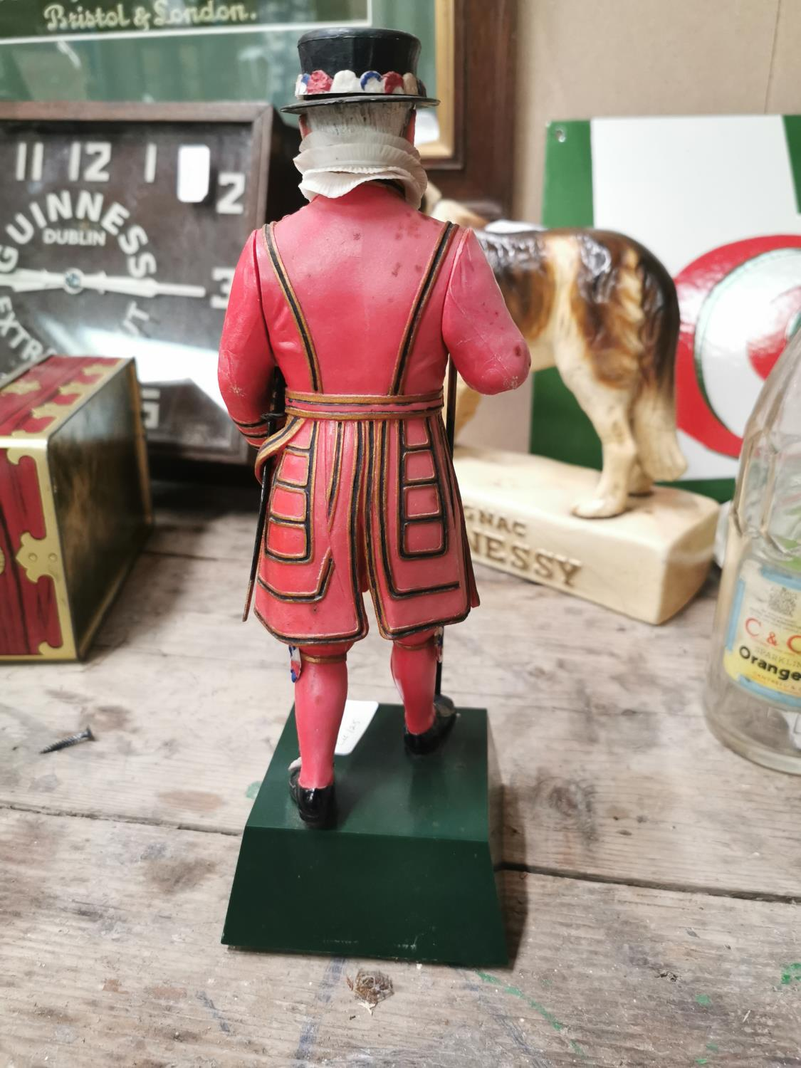 Beefeater London Dry Gin advertising figure. - Image 2 of 2
