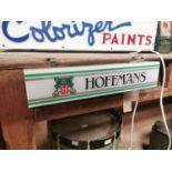 Hoffman's light up advertising sign