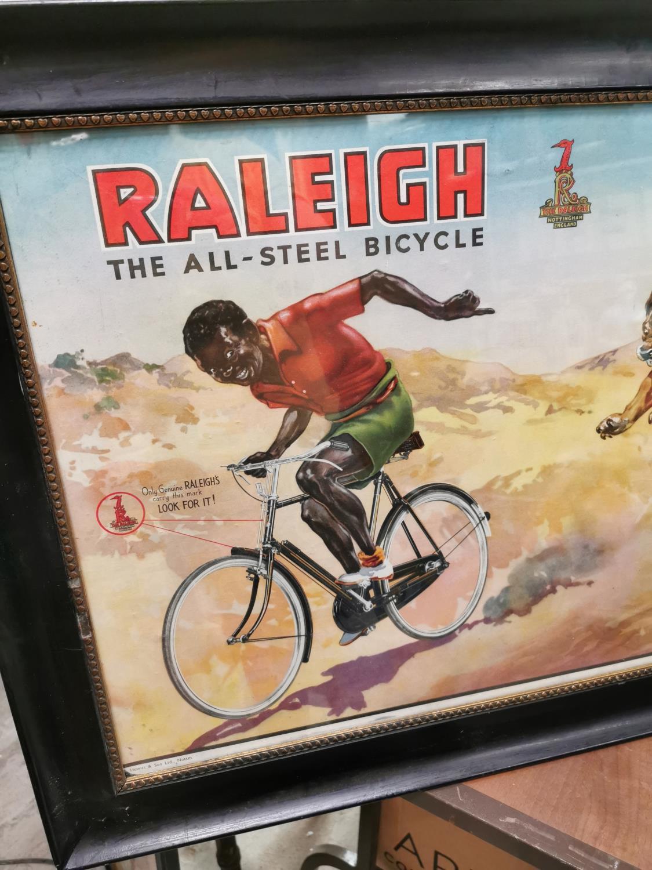 Raleigh advertising showcard. - Image 2 of 3