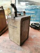 1950s Esso advertising oil can.