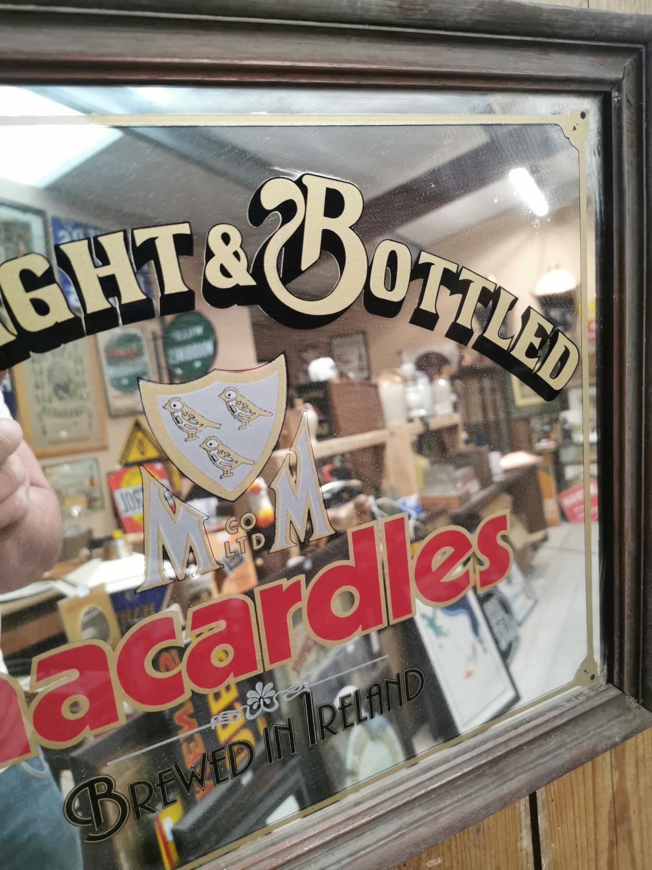 Macardles advertising mirror. - Image 2 of 2