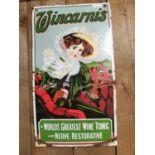 Wincarnis Tonic Wine advertising sign.