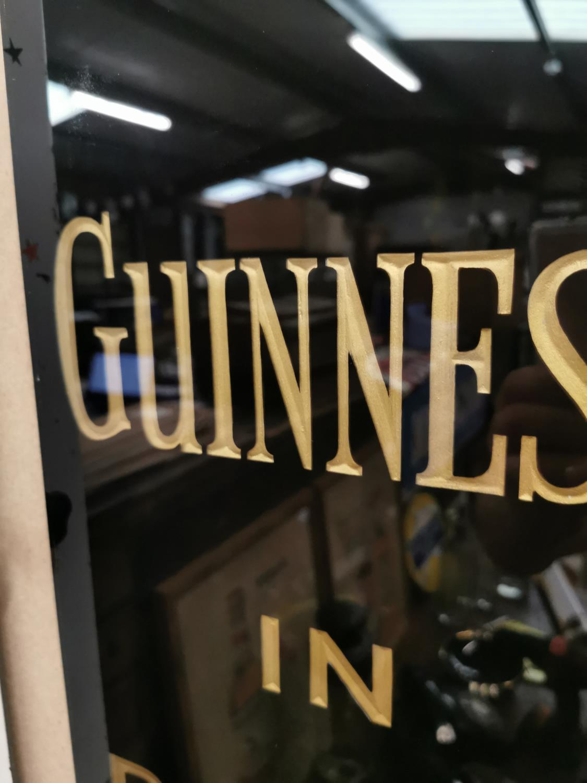 Guinness in Bottle slate advertising sign. - Image 2 of 2