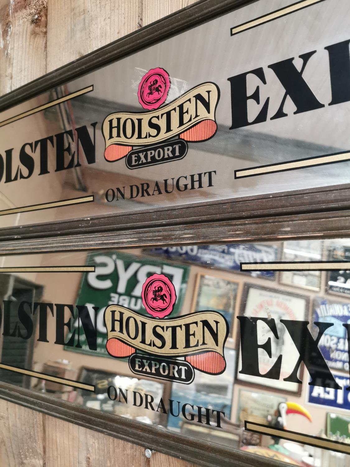 Two Holsten Export advertising mirrors. - Image 2 of 2