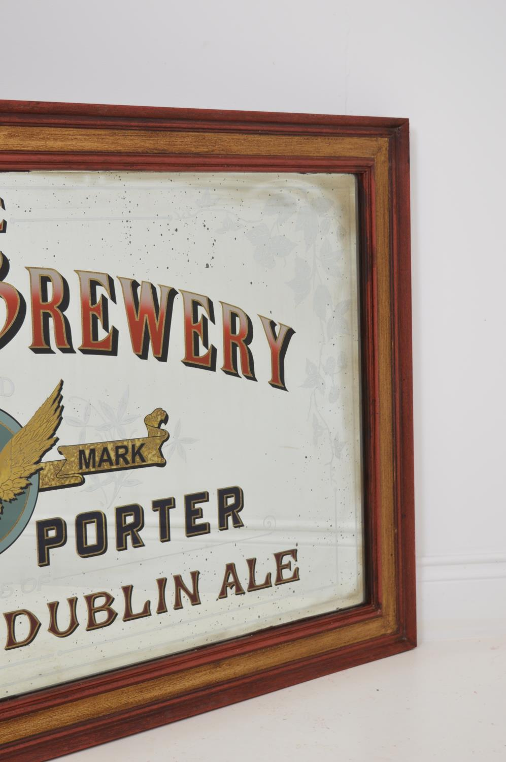The Phoenix Brewery advertising mirror, - Image 2 of 2