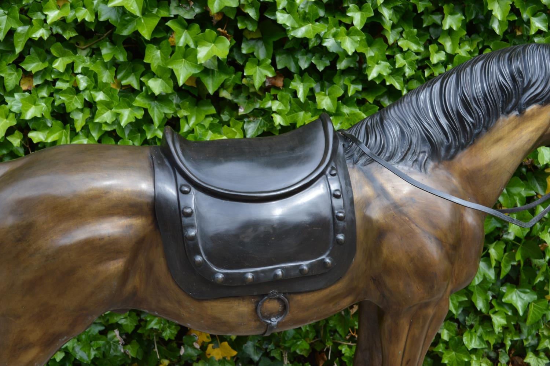 Bronze model of Horse - Image 3 of 3