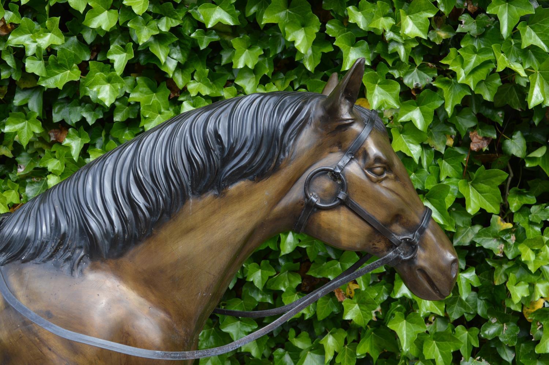 Bronze model of Horse - Image 2 of 3