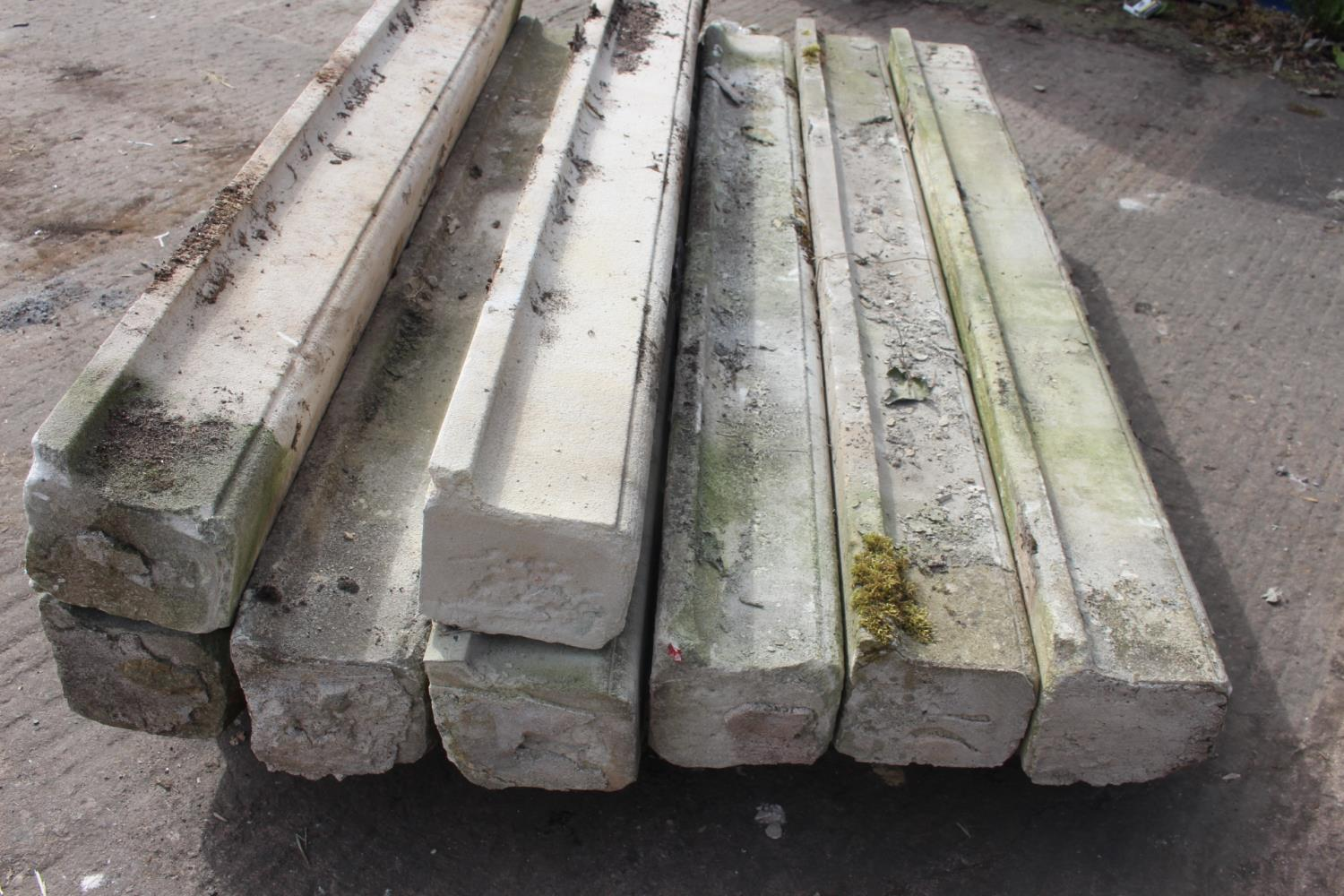 Pallet of eight sandstone sills - Image 2 of 3