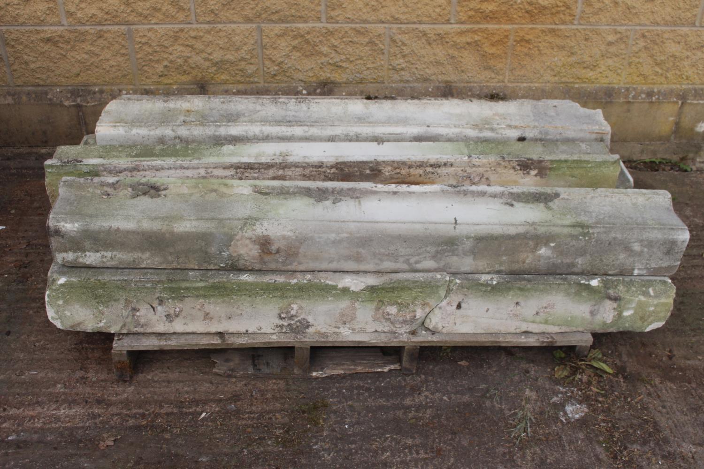 Pallet of seven sandstone sills