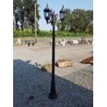 Cast alloy street lamp