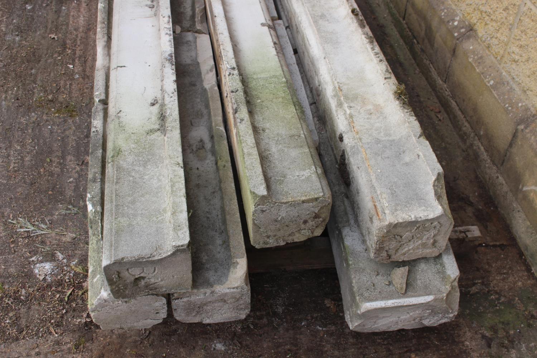 Pallet of seven sandstone sills - Image 2 of 3
