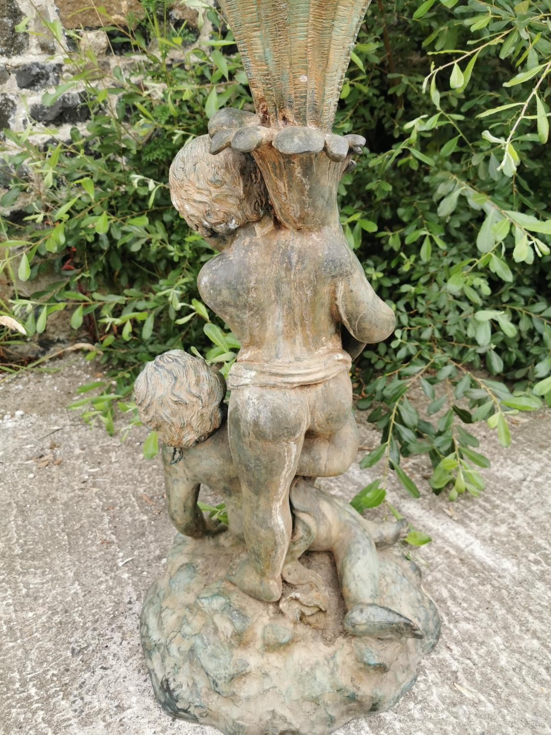 Good quality bronze fountain or planter. - Image 4 of 4
