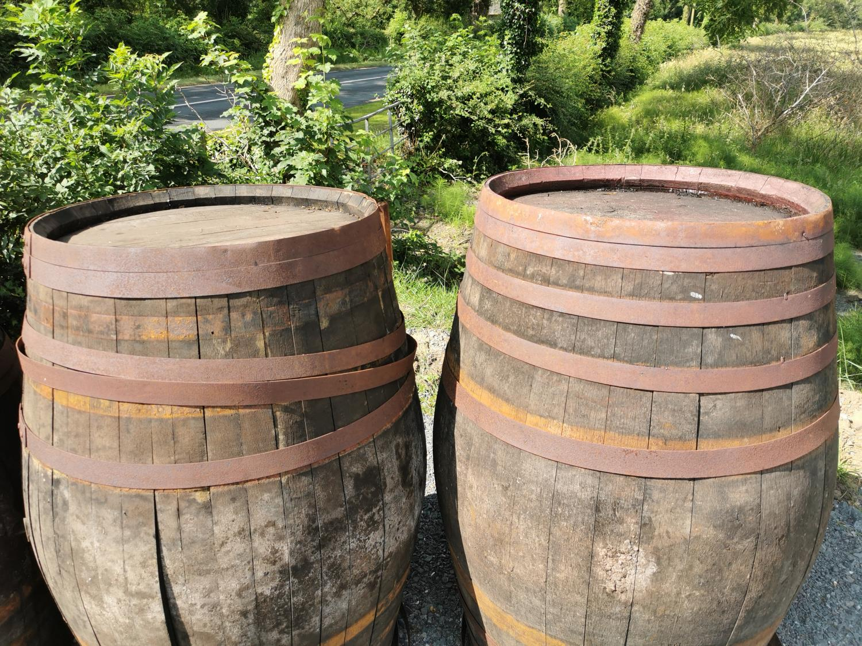 Two oak barrels - Image 2 of 2