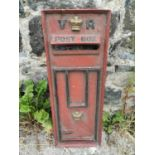 Resin VR post box front.