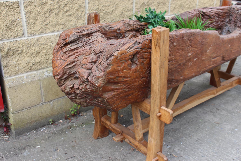 Midi'wood planter on stand - Image 2 of 4