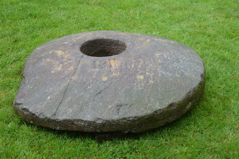 Regency period stone mill wheel - Image 2 of 3