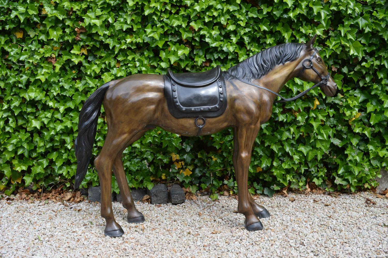 Bronze model of Horse